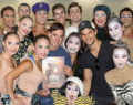 About That Time Taylor Lautner and Gus Van Sant Stopped by Cirque Du Soleil