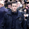 PIC: Steely-Faced Cop Joseph Gordon-Levitt on the Set of The Dark Knight Rises