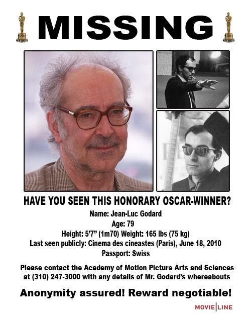 Jean-Luc Godard Will Make a 3-D Film, Naturally