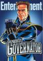 Arnold Schwarzenegger Milking Governator Persona for Fourth Career as Cartoon Superhero