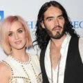 """LOS ANGELES, CA - DECEMBER 03:  Singer Katy Perry (L) and actor Russell Brand attend the 3rd Annual """"Change Begins Within"""" Benefit Celebration presented by The David Lynch Foundation held at LACMA on December 3, 2011 in Los Angeles, California. (Photo by Jason Merritt/Getty Images)"""