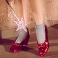 Mandatory Credit: Photo by Everett Collection / Rex Features ( 435946C )Dorothy's ruby slippers,'THE WIZARD OF OZ' FILM STILLS - 1939