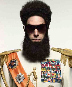 Sacha Baron Cohen Takes Ruthless Dictator Act to CinemaCon
