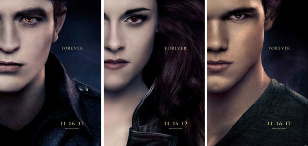 Breaking Dawn character posters