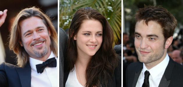 Cannes 2012 - Brad Pitt, Kristen Stewart, Robert Pattinson