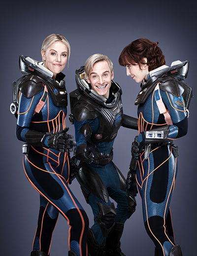 Prometheus space suit - Charlize Theron, Michael Fassbender, Noomi Rapace