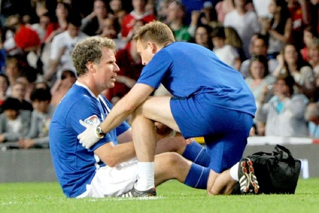 Will Ferrell injured - Soccer Aid