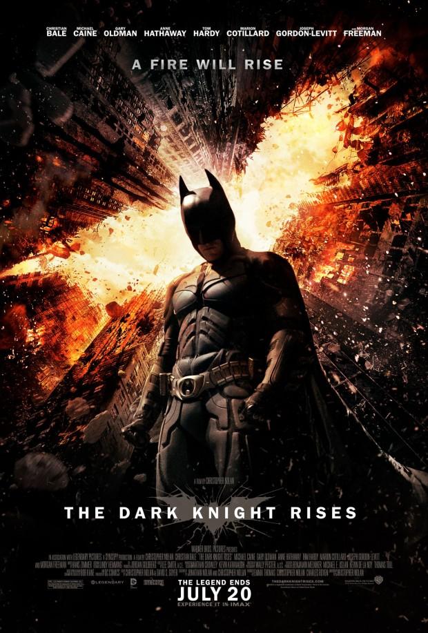 The Dark Knight Rises new poster