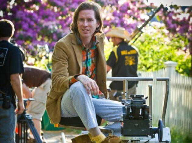 Wes Anderson on 'Moonrise Kingdom' set