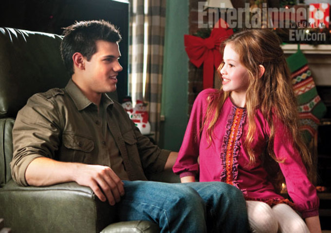 Breaking Dawn Part 2 - Jacob and Renesmee