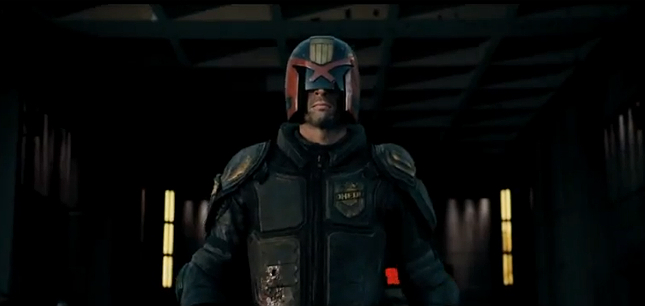 Dredd first trailer