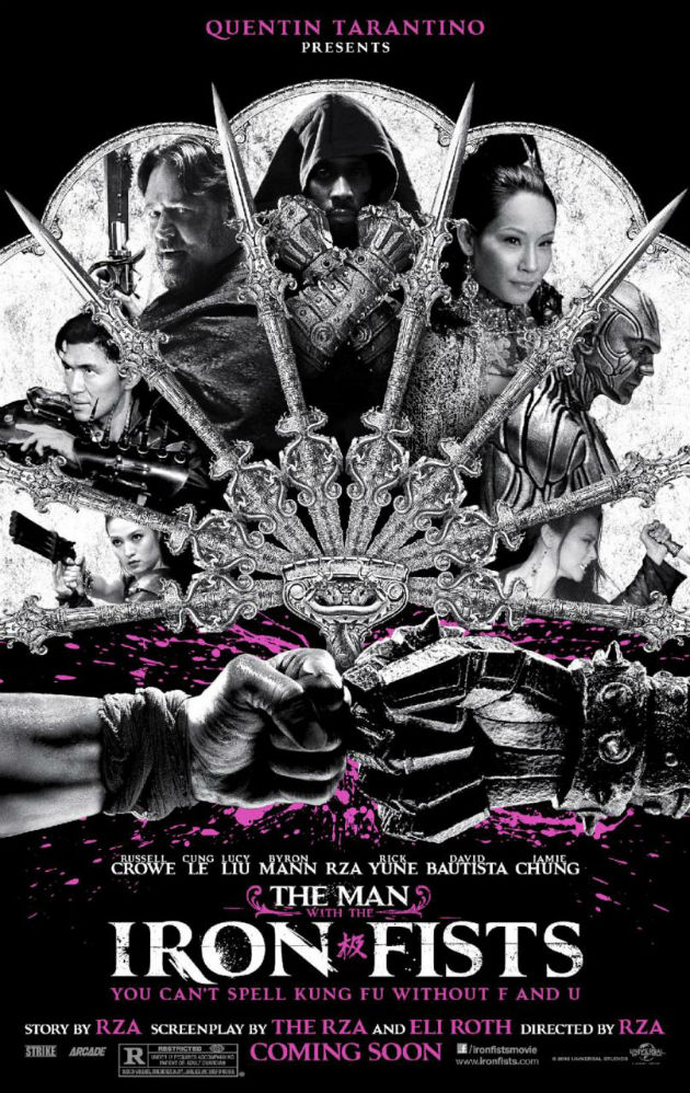 Man with the Iron Fists - RZA, Russell Crowe, Lucy Liu