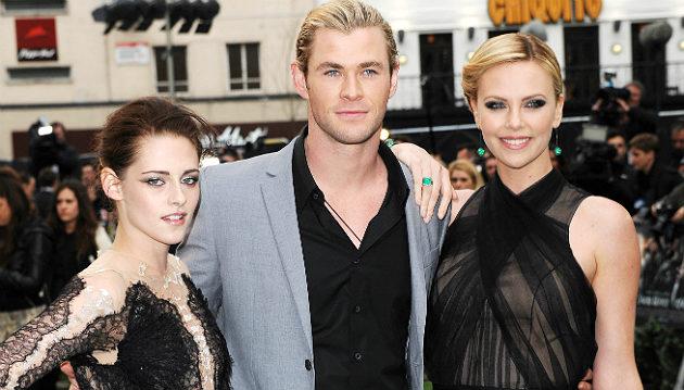 Snow White and the Huntsman - Kristen Stewart, Chris Hemsworth, Charlize Theron