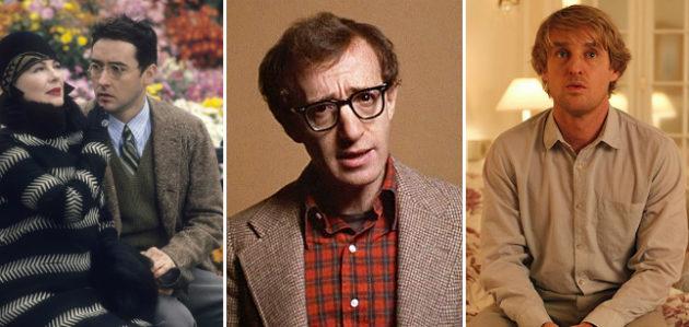 Woody Allen onscreen alter egos