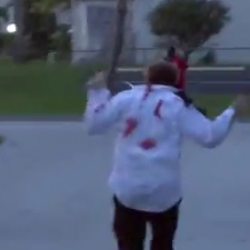 Zombie Prank Gone Wrong