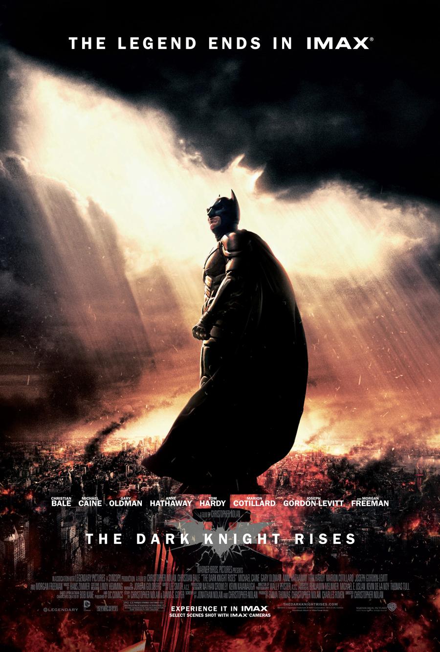The Dark Knight Rises - IMAX - Batman poster