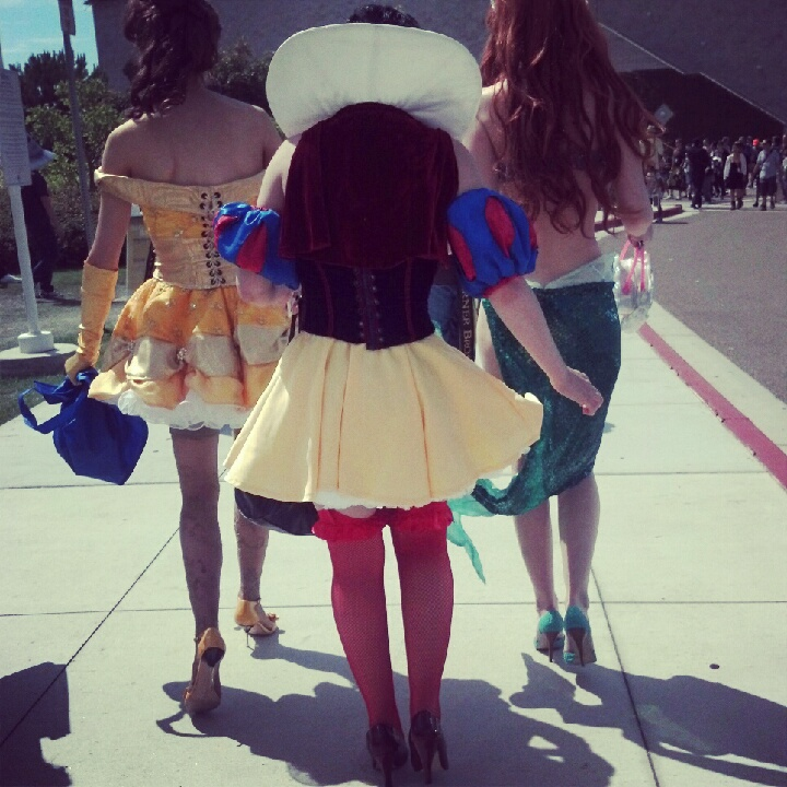 Comic-Con Disney princess cosplay