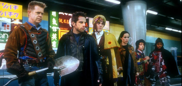 Mystery Men on Bluray - anti Dark Knight