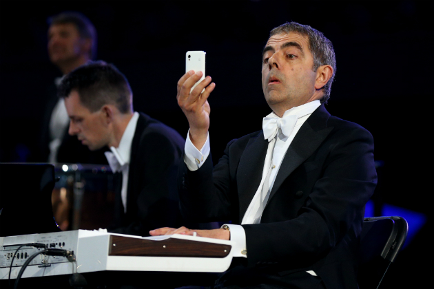 2012 Olympics Mr. Bean
