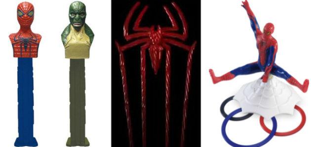 Amazing Spider-Man - odd merchandising