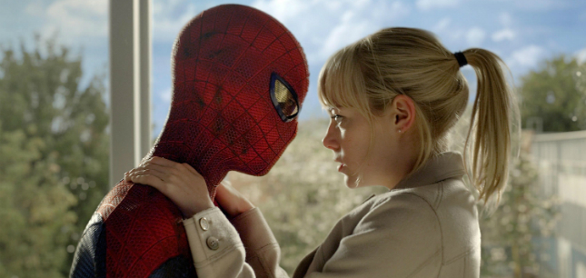 Amazing Spider-Man - Andrew Garfield and Emma Stone