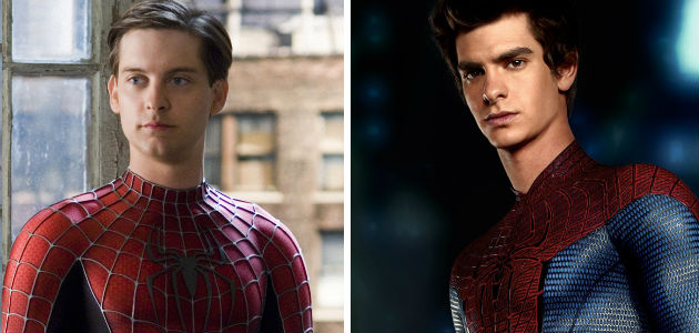 Spider-Man: Tobey Maguire vs. Andrew Garfield