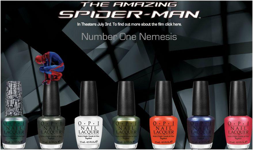 Spider-Man nail polish