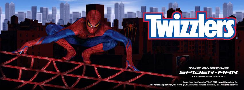 Spider-Man Twizzlers