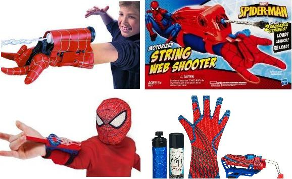 Spider-Man webshooter toy