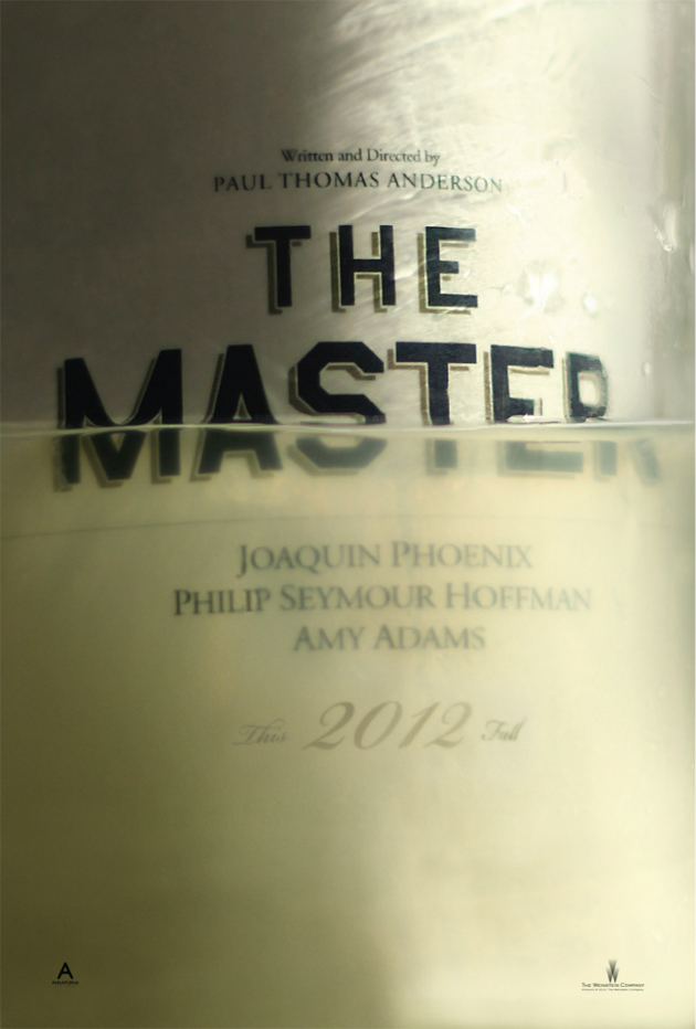 Paul Thomas Anderson's The Master - first poster