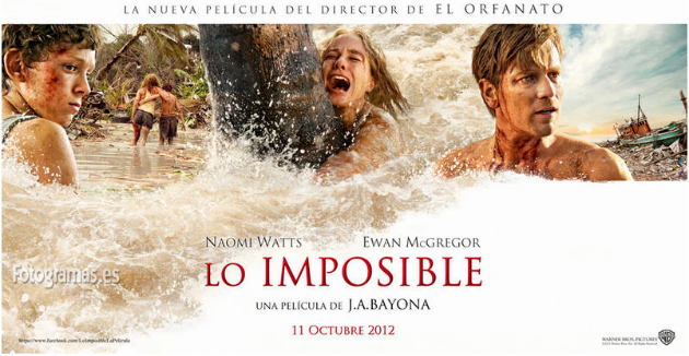 The Impossible - Naomi Watts, Ewan Macgregor