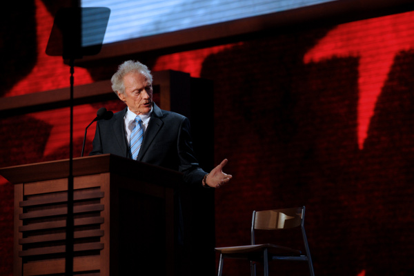 Clint Eastwood's Republican convention speech to a chair