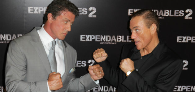 Expendables 2 Van Damme