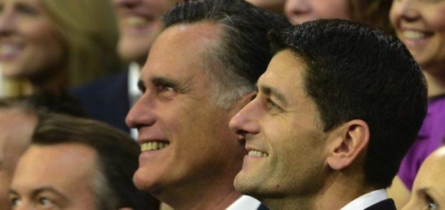 Casting the Republicans -- Mitt Romney, Paul Ryan