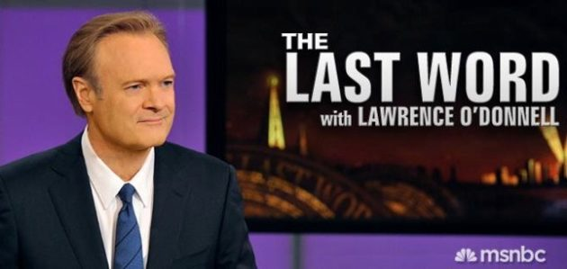 Lawrence O'Donnell Picks 5 Essential Movies for 2012 Race