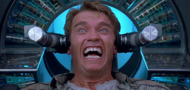 Total Recall Arnold Schwarzenegger Cameo