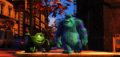 """Pixar – 25th Anniversary Retrospective.""""MONSTERS, INC.""(L-R) Mike Wazowski, James P. Sullivan (Sulley) ©Disney/Pixar.  All Rights Reserved."