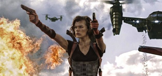 'Resident Evil' movies and video games