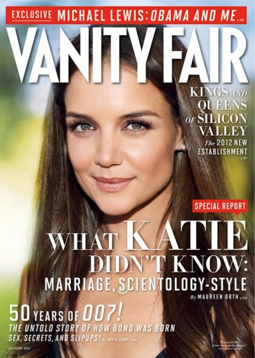 Vanity Fair cover story -- Scientology search for Tom Cruise girlfriend