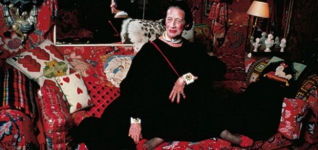 'Diana Vreeland: The Eye Has to Travel' premiere