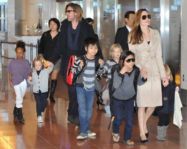 Jolie Pitt Kids Maleficent