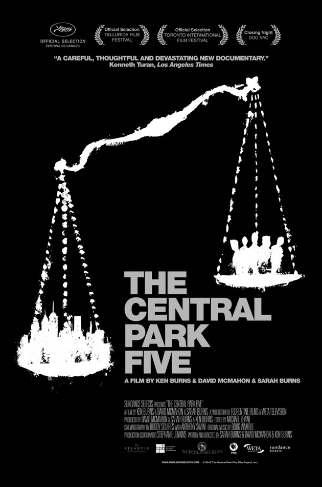 The Central Park Five exclusive poster