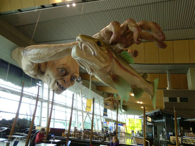 New Zealand Airport Gollum