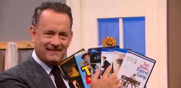 Tom Hanks promotes 'Cloud Atlas' on 'The Colbert Report'