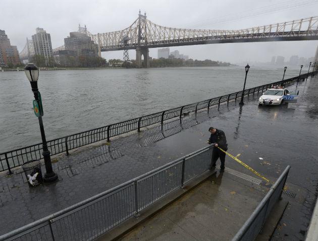 Hurricane Sandy Manhattan