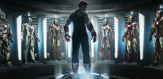 Iron man teaser poster and trailer