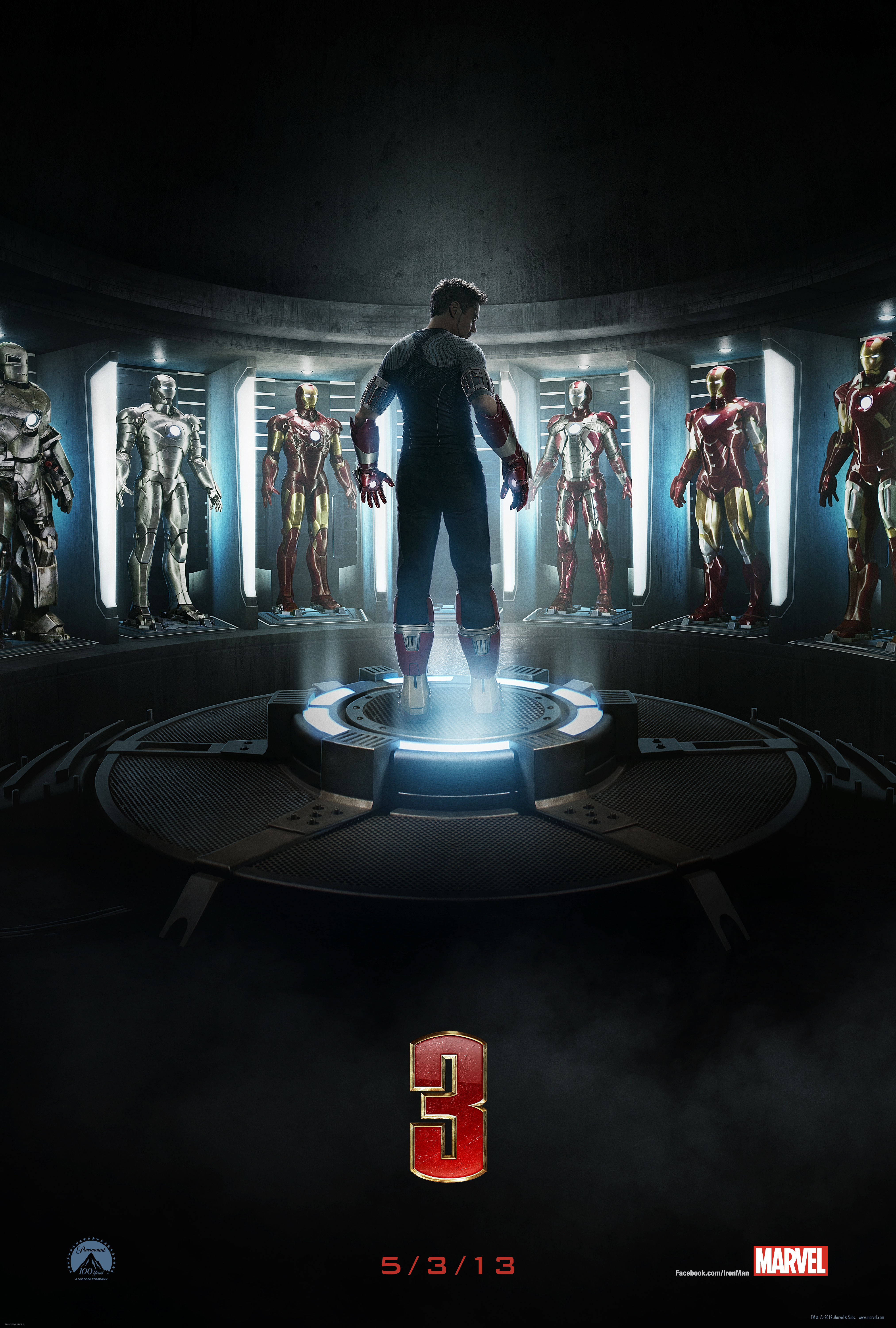 Iron Man 3 Teaser trailer and poster