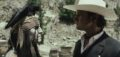"""THE LONE RANGER""L to R: Johnny Depp as Tonto and Armie Hammer as The Lone RangerPh: Peter Mountain©Disney Enterprises, Inc. and Jerry Bruckheimer Inc.  All Rights Reserved."