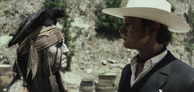 'Lone Ranger' movie photos