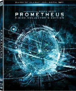 Prometheus DVD Spoiler